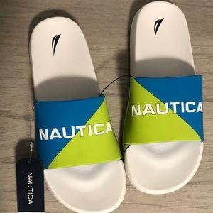 Nautica Stono 4 Lime/Teal Men's Slide Sandals